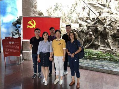 支部人员参观学习新四军江南指挥部